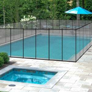 Giantex 4'X12' In-Ground Swimming Pool Fence