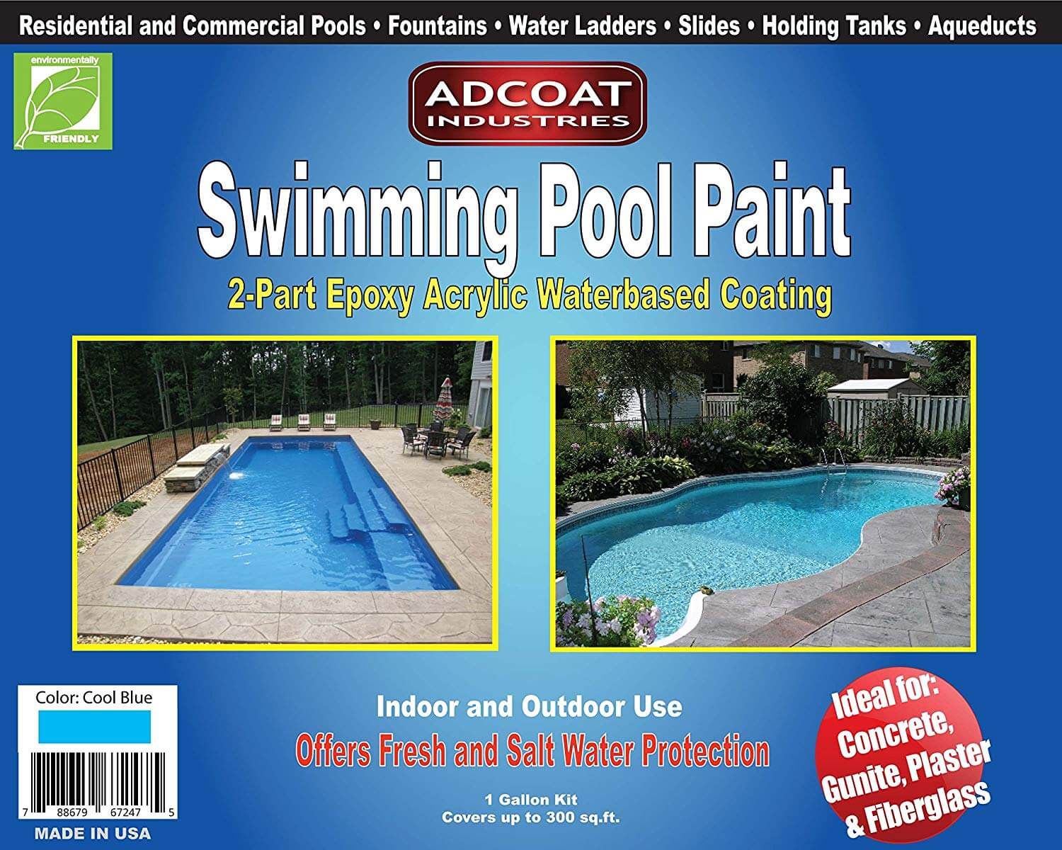 good Eco-friendly pool paint