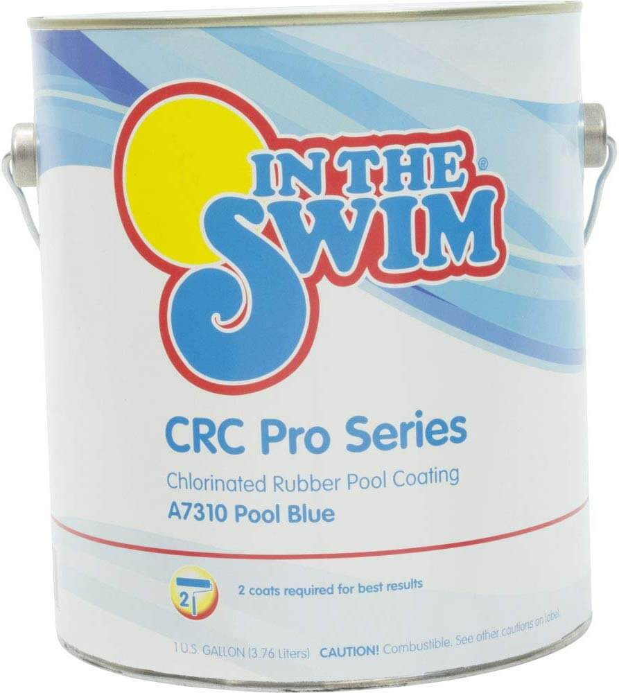 chlorinated rubber pool paint
